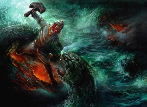 Thor vs Jormungandr