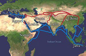 bản đồ silk-route