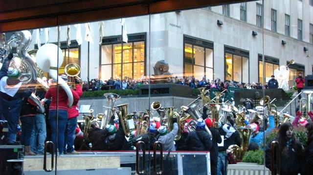 hòa nhạc ở Rockefeller