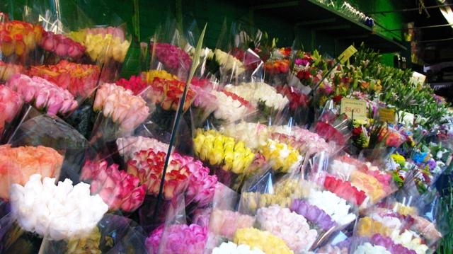 quầy hoa