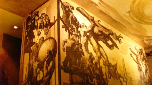 trang trí trong đường hầm Rockerfeller