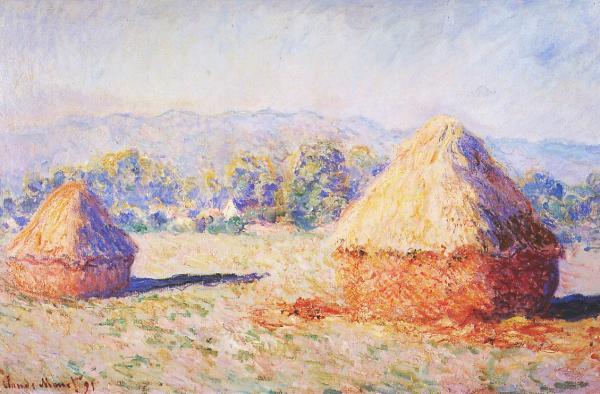 Đụn rơm của Monet