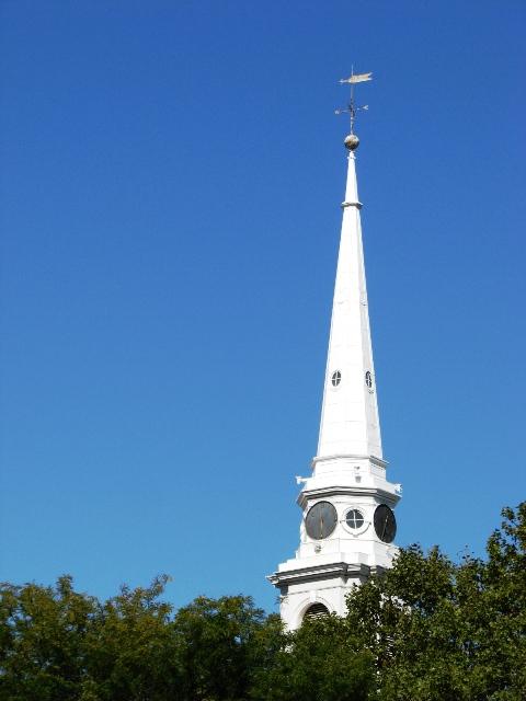 đỉnh nhà thờ