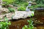 một góc đá trong vườn Nhật Bản