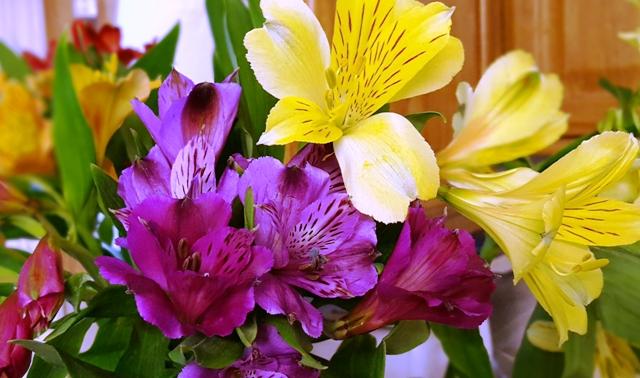 chùm hoa viếng mộ