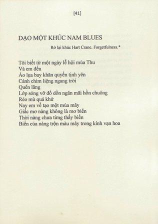 dạo một khúc nam blues