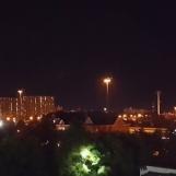 Đêm ở Toronto nhìn từ cửa sổ khách sạn