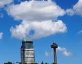 CN nhìn từ hương thác Niagara