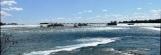 nhịp cầu bắc ngang sông