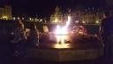 Ngọn lửa (Centennial Flame) về đêm