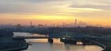 bình minh ở chân trời Manhattan