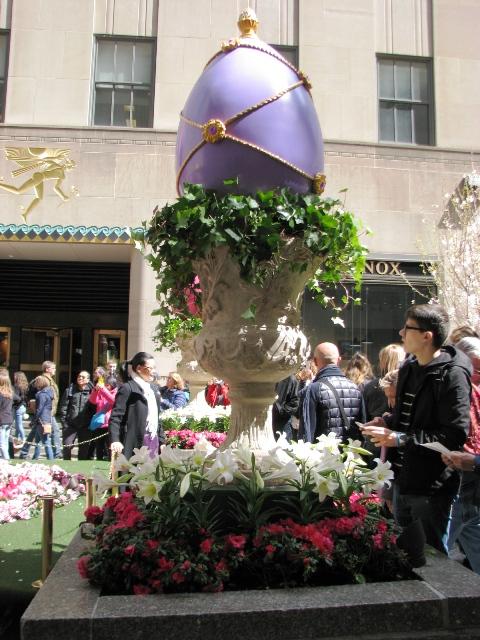 Trứng Phục sinh ở Rockefeller Center