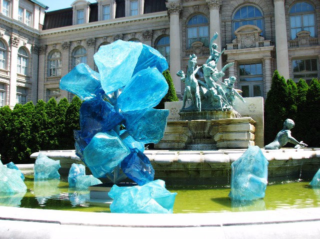 blue polivitro crystal