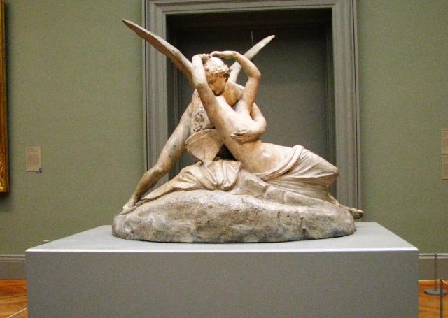 Cupid đang hôn Psyche