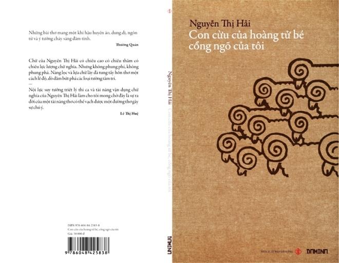 Bìa quyển thơ NTH