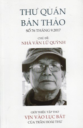 Bìa trước TQBT số 76 chủ đề nhà văn Lữ Quỳnh