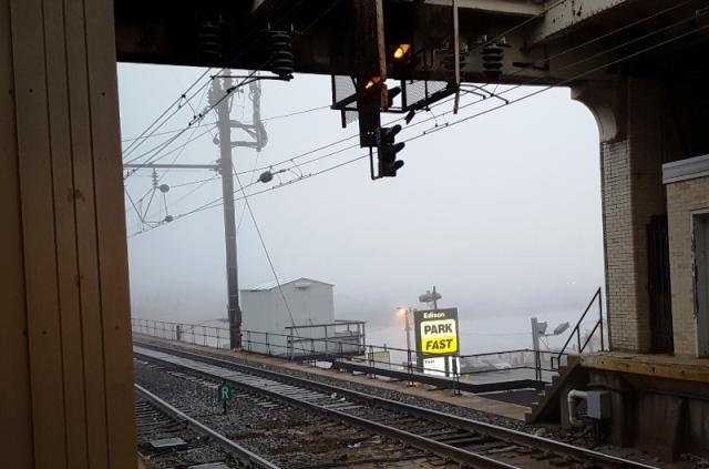 buổi sáng sương mù
