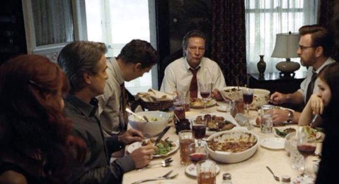 funeral dinner August Osage County