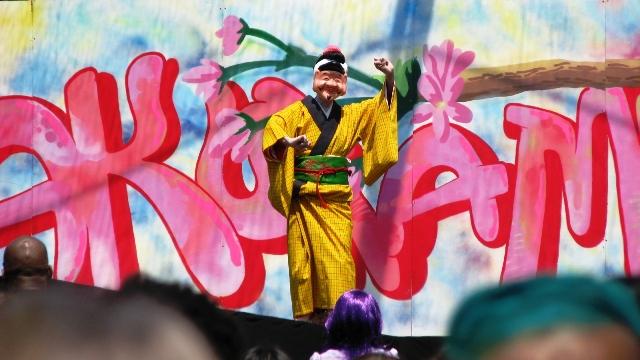 người diễn tuồng kabukai