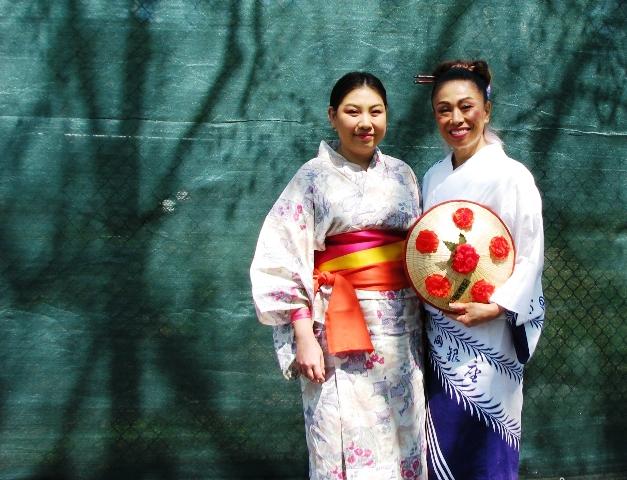 sáng ngời với bộ kimono
