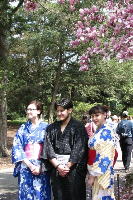 Với kimono