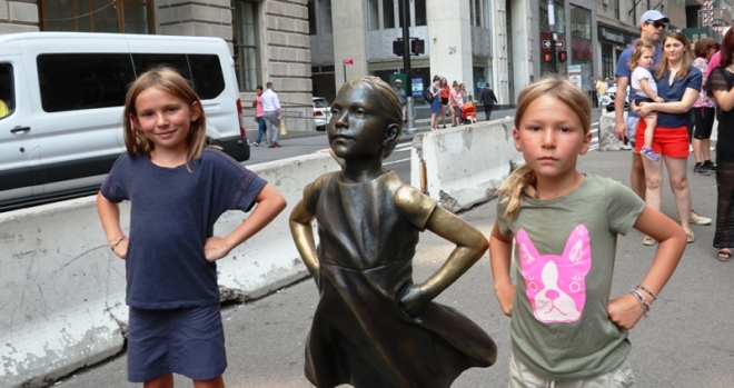 Three Fearless Girls